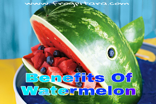 Watermelon Facts And Health Benefits of Watermelon Nutrition