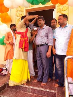 #JaunpurLive : शिव शक्ति धाम मन्दिर में प्राण-प्रतिष्ठा समारोह सम्पन्न