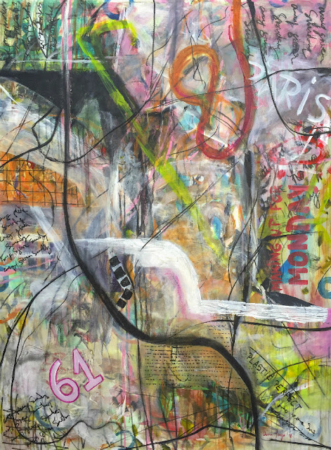 009-18-Oana-Plastic-Perfect-2018-acrylic-on-canvas-48x36inches-122x91cm