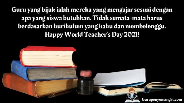 Kata-kata Bijak Hari Guru Sedunia