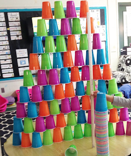 Cup Stacking Tower