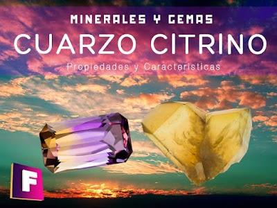 Cuarzo Citrino - Propiedades y Caracteristicas