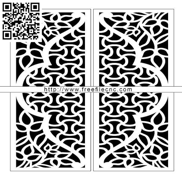 Design pattern door E0009821 file cdr and dxf free vector download for Laser cut CNC