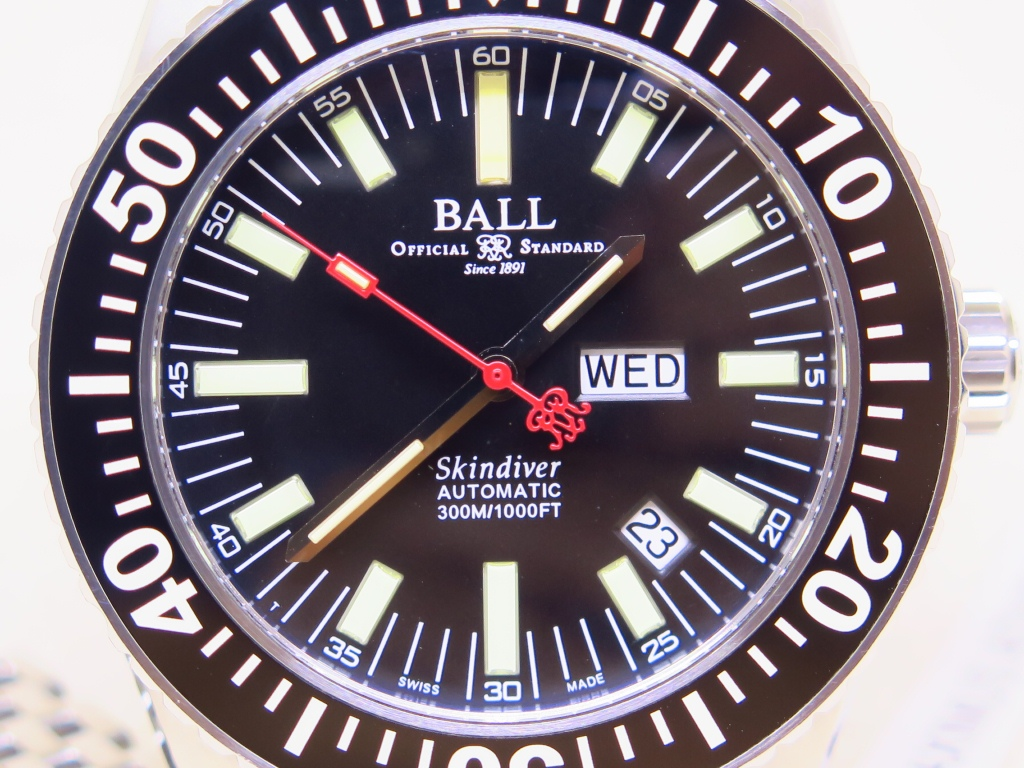BALL OFFICIAL STANDARD SKIN DIVER 300m - AUTOMATIC