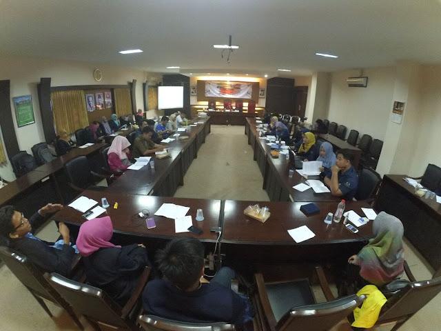 sidang pleno organisasi HMP
