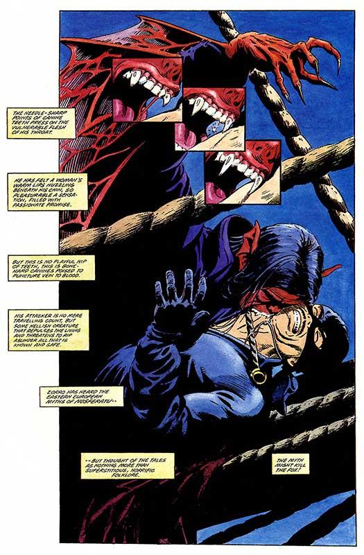 Atomic Kommie Comics: Frightday Fun DRACULA VS ZORRO Fang