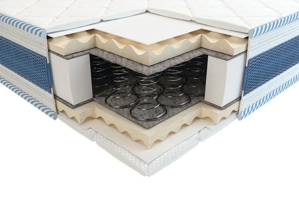 Детский ортопедический матрас Викси 3D comfort зима-лето 60х120 ТМ Неолюкс