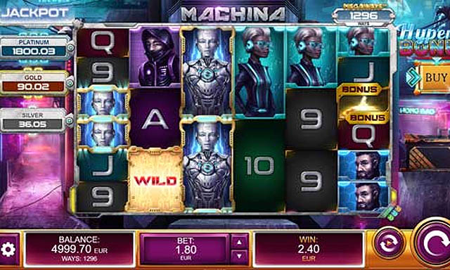 Ulasan Slot Relax Gaming Indonesia - Machina Megaways Slot Online