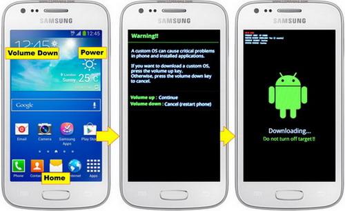 Cara Flash Hp Android Samsung Galaxy Ace 3 Via ODIN