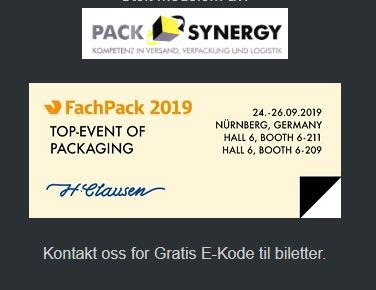 FachPack 2019 Tickets