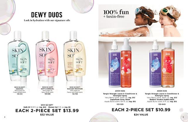 avon catalog bath and body sale