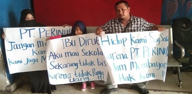 Dear Bapak Erick Thohir, Lihat Ini Ada Kontraktor Angkut Keluarganya Nginep Di PT Perinus untuk Tagih Uang Pelunasan Proyek Anaya Resto