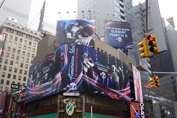 American Idol ABC season 16 billboards