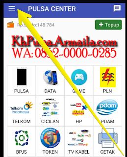 Cara Isi Paket Internet Telkomsel Indosat XL 3 IM3 Axis Lewat SMS Telegram Agen Pulsa