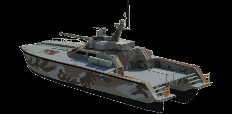 Lundin-X18 Tank Boat