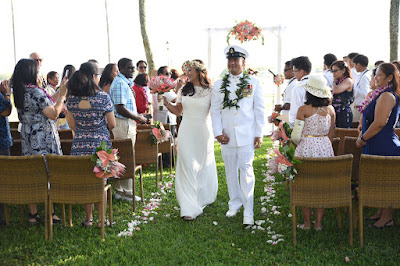 Oahu Military Wedding