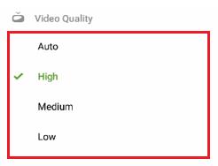 change video quality