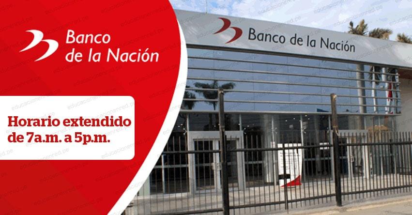 Banco de la Nación atenderá pago de pensiones desde las 7 a.m. en 29 agencias a nivel nacional (CRONOGRAMA - FECHAS DE PAGO)