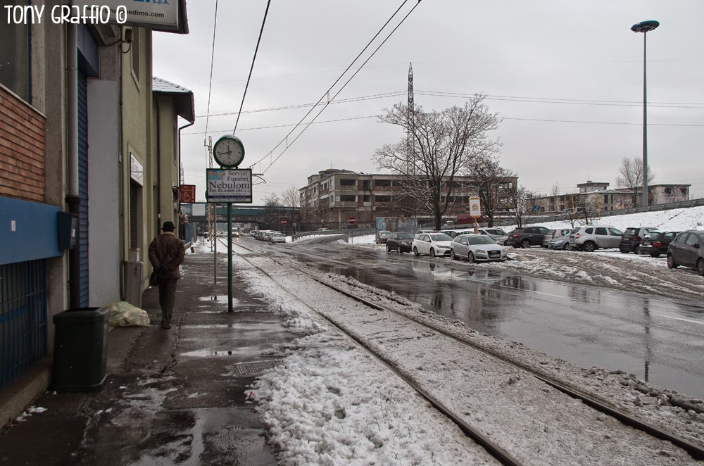 Castello di Zak sotto la neve