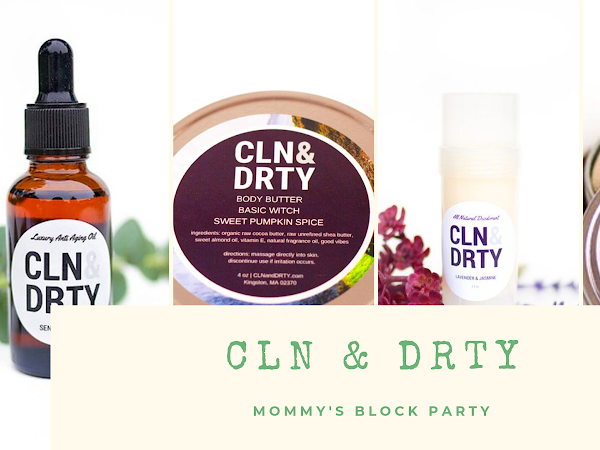 Put Your Best Face Forward WIth CLN & DRTY Skincare #MBPHGG19 #GIVEAWAY