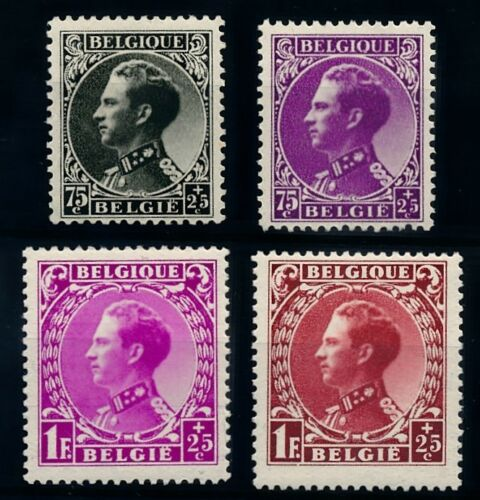 Belgium 1934 Leopold III For Victims of War