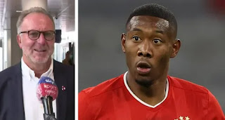 Bayern CEO Rummenigge confirms David Alaba will leave in summer