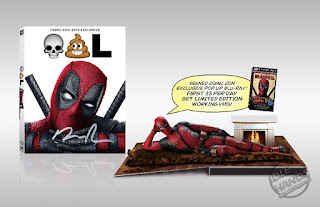 SDCC 2016 FOX Exclusive Deadpool Pop-Up Blu-ray with VHS