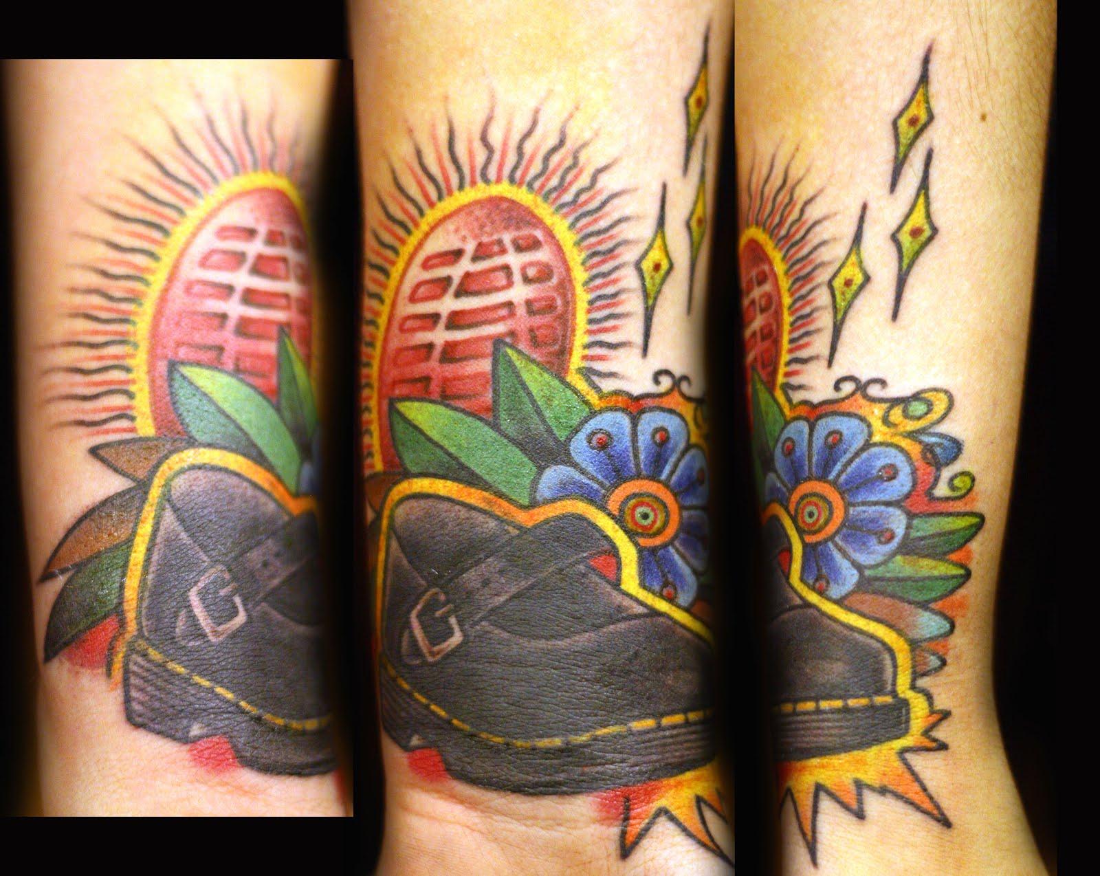 Danny Garcia For A Doc Martens Junkie Custom Work Tattoo