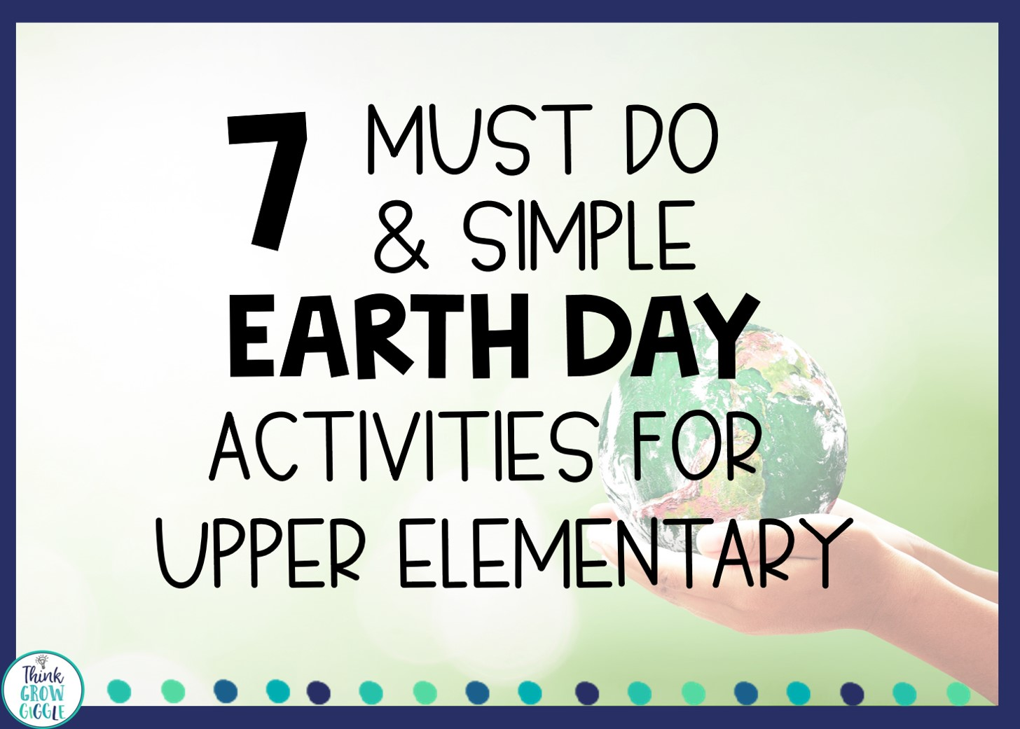 earth day classroom ideas for upper elementary students