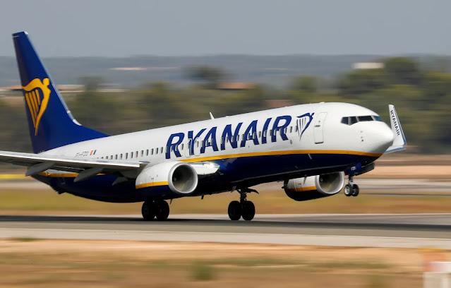 1. RyanAir Budget Airlines in Europe