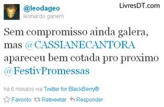 Cassiane: Fevereiro 2012