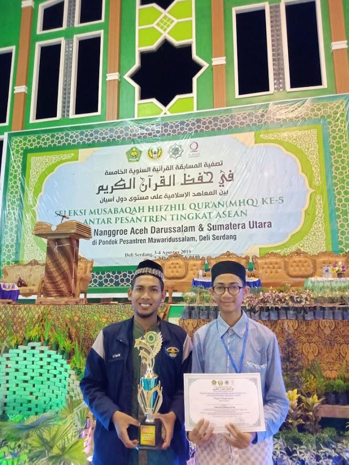Phonna, Utusan Dayah Darul Ihsan  Juara III MHQ Asean