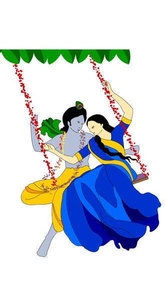 radha devi  krishna wallpaper photo