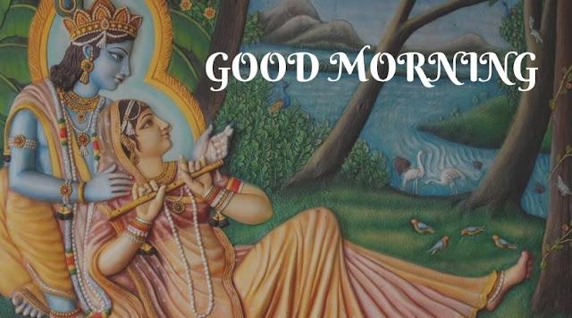 radhe krishna good morning gif images