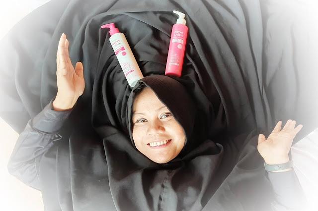 Perawatan rambut shampoo conditioner tanpa SLS dan paraben aman untuk ibu hamil menyusui