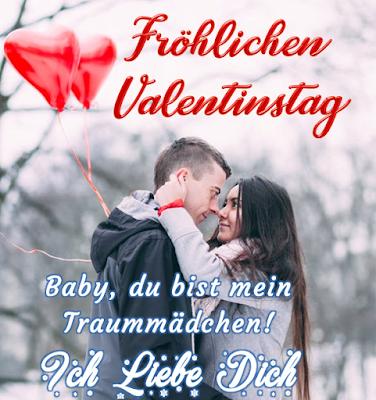 schöne Sprüche Valentin tag romantisches Paar