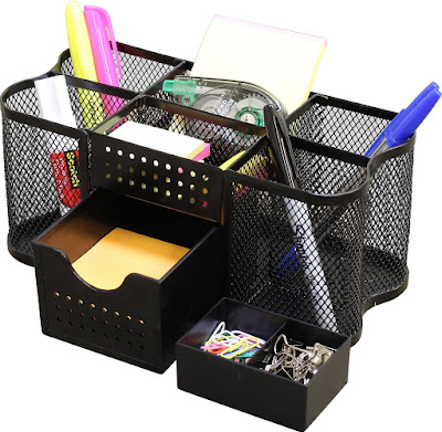 Top Dorm Room Accessories to Keep You Organized - desk organizer caddy :: OrganizingMadeFun.com