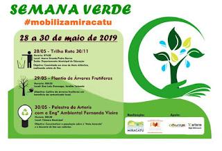 Grupo de mobilização do PVE de Miracatu realiza Semana Verde