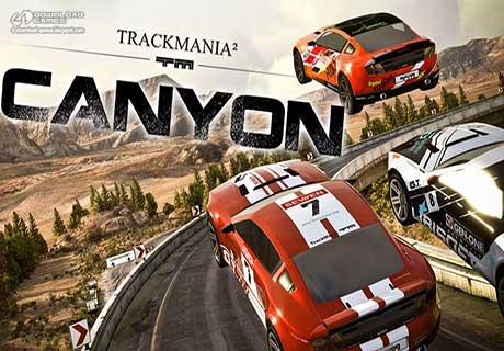 لعبة سباق سيارات TrackMania 2 Canyon للكمبيوتر
