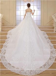 vestidos de novia de cola