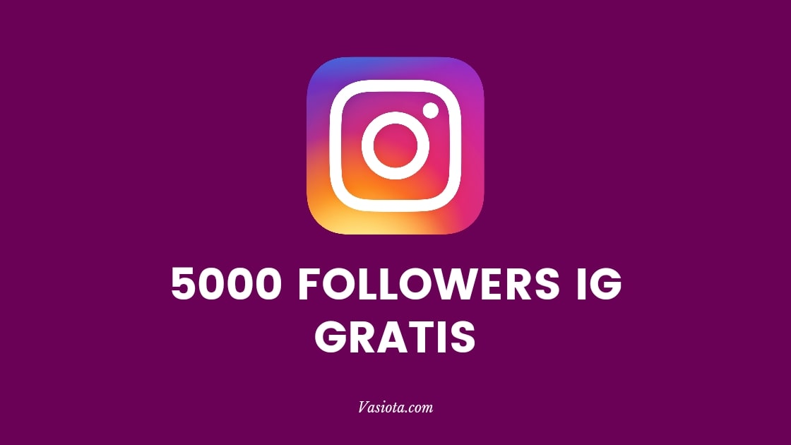 5000 Followers Instagram Gratis