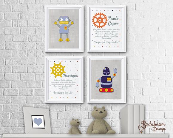 Robô, Robôs, Robot, pôster, pôster, posteres, posters, print, quadro, quadrinhos, quadrinho, decoração, quarto, infantil, Robot, print, arte, digital kit