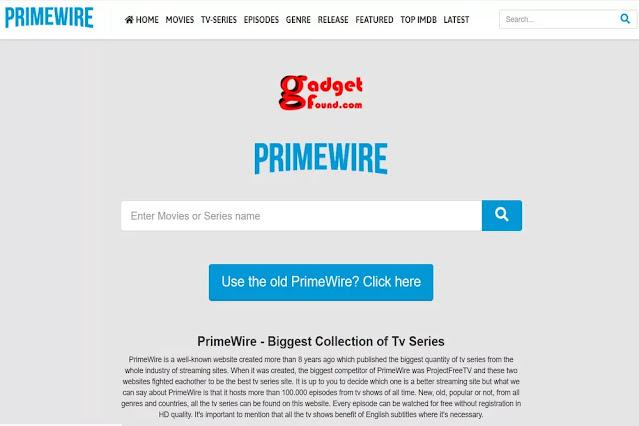 Primewire: CouchTuner Alternatives