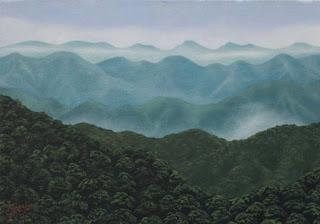Montaña Jorge Marin Pintor Colombiano