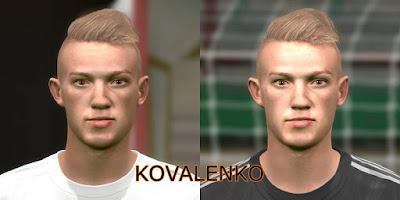 PES 2016 Kovalenko (Shakhtar Donetsk) Face By Memer Facemaker