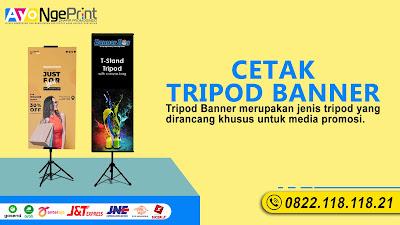 Cetak Standing Tripod Banner Cepat Murah di Taman Sari, Jakarta Barat