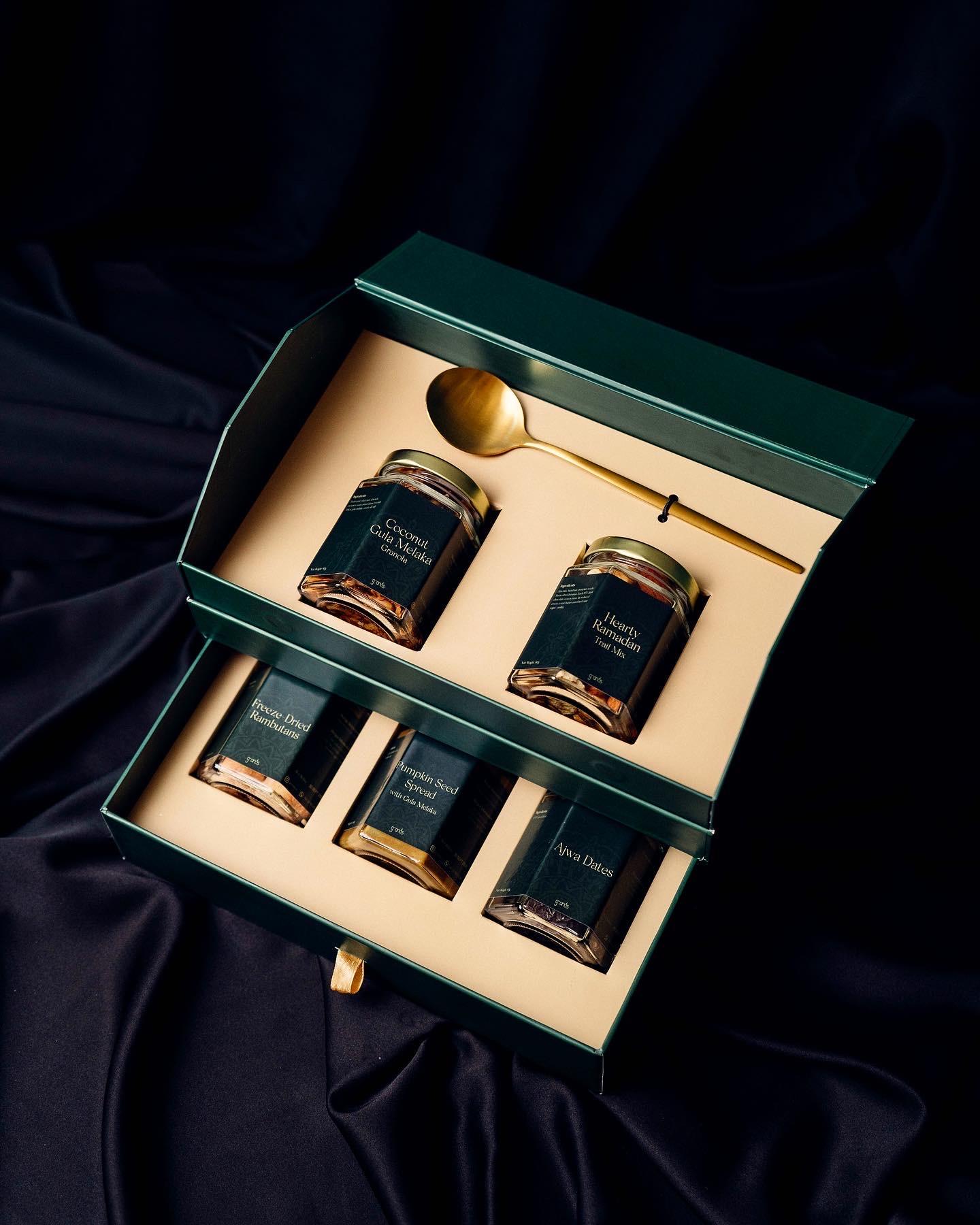 Granos Malaysia: Radiant Raya & Blessed Eid 2021 Granola Gift Boxes