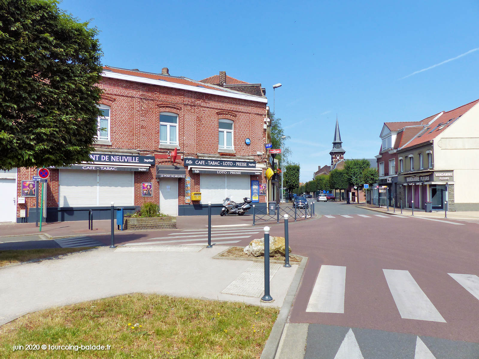Rue du Pont de Neuville, Tourcoing 2020