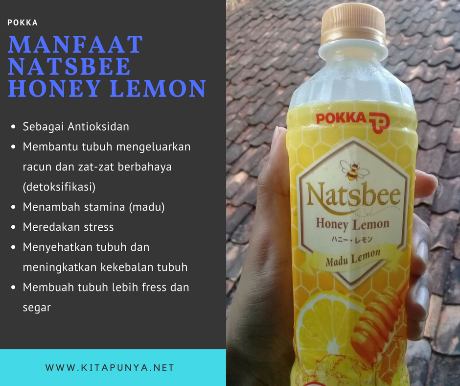 Manfaat Natsbee Honey Lemon