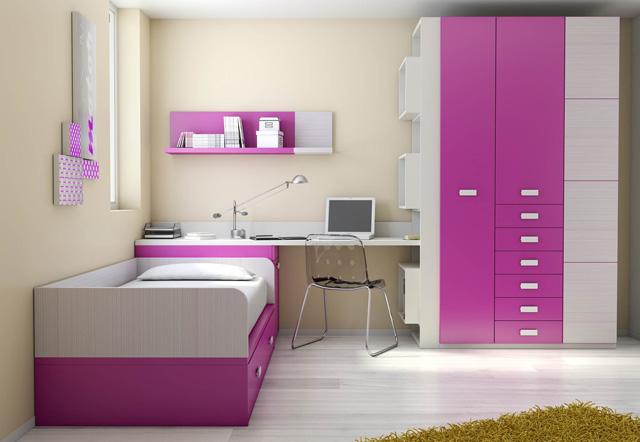 Camas nido dormitorios juveniles dormitorios infantiles for Habitacion infantil 2 camas